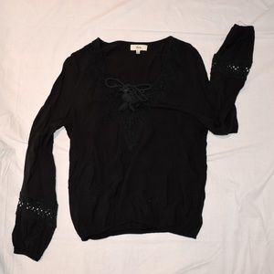 Black Ava Long Sleeve